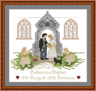 Church Wedding Set Kit