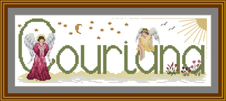 Cross stitch Religious Christian Samplers