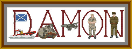 British Armed Forces cross stitch
