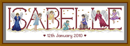 Cross stitch Angels & Cherubs