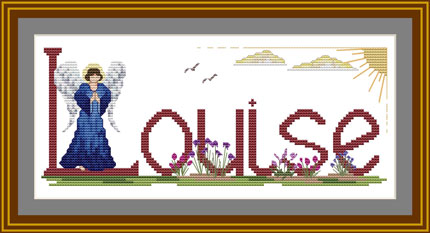Cross stitch Angel