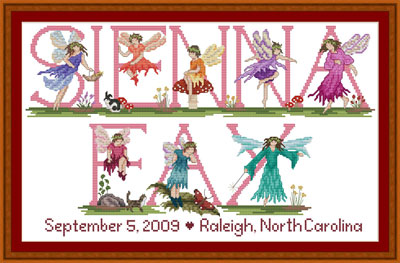 Cross stitch Fairy Pattern