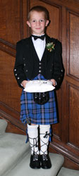 Scottish Ring Bearer